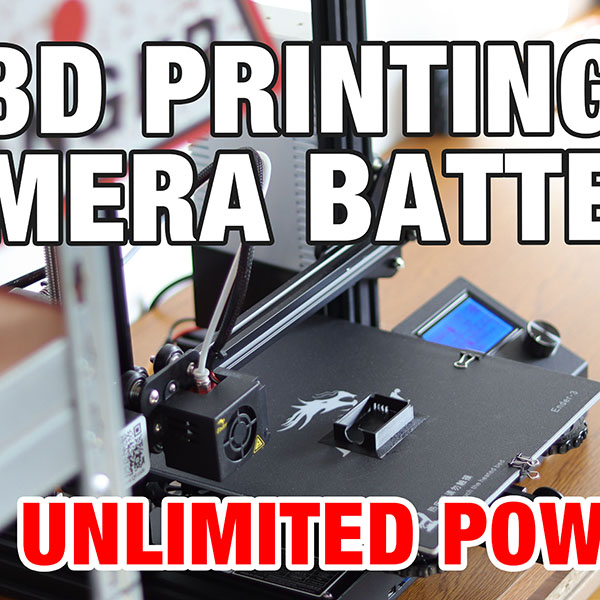 DIY 3D Printed Camera Battery - Unlimited Power For Your Camera